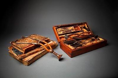 Древний набор стетоскоп